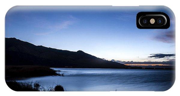 Sierra Nevada iPhone Case - Twilight At Klondike Lake by Cat Connor