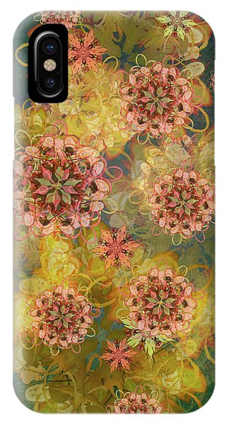 Twilight Blossom Bouquet IPhone Case