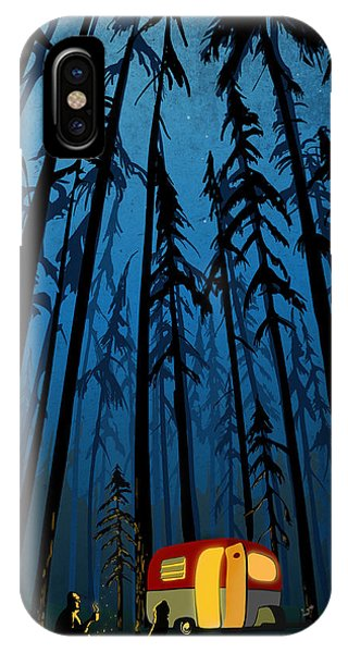 Twilight Camping IPhone Case