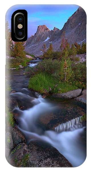 Kings Canyon iPhone Case - Twilight Cascade by Brian Knott Photography
