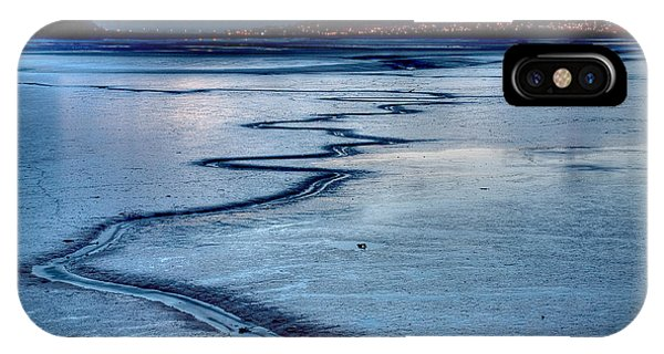 Twilight, Conwy Estuary IPhone Case