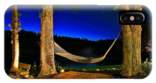 Twilight Hammock Smith Mountain Lake IPhone Case