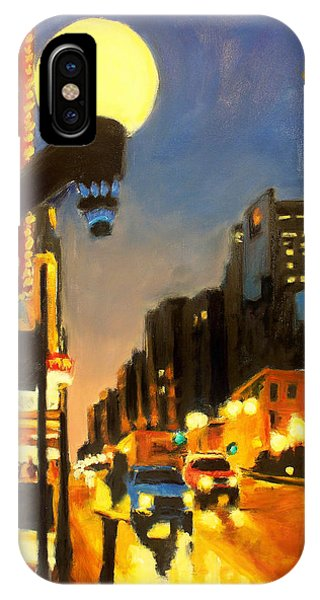 Twilight In Chicago - The Watcher IPhone Case