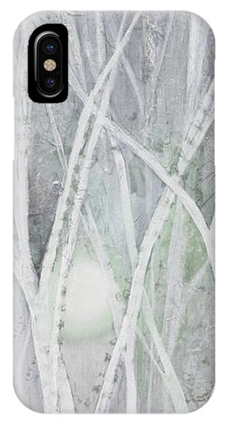 Nature Scene iPhone Case - Twilight In Gray II by Shadia Derbyshire