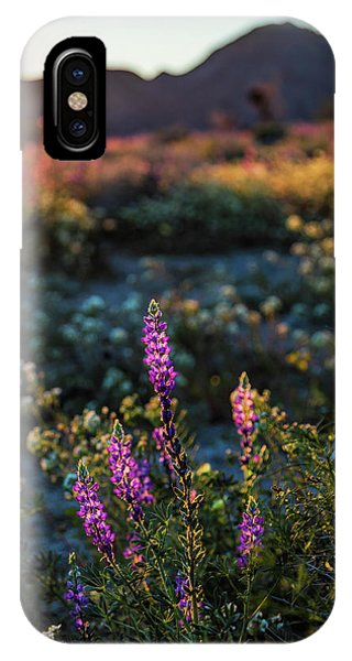 Twilight Lupine IPhone Case