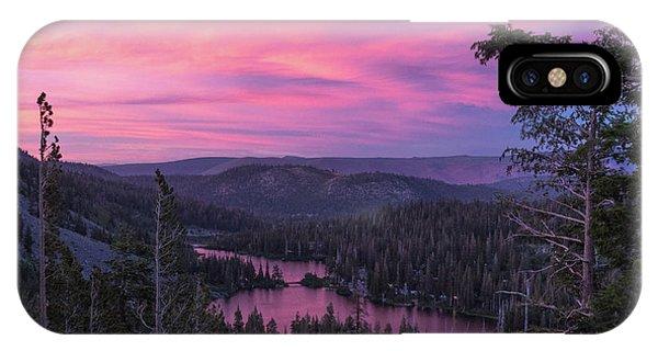 Twilight Mammoth Lakes  IPhone Case