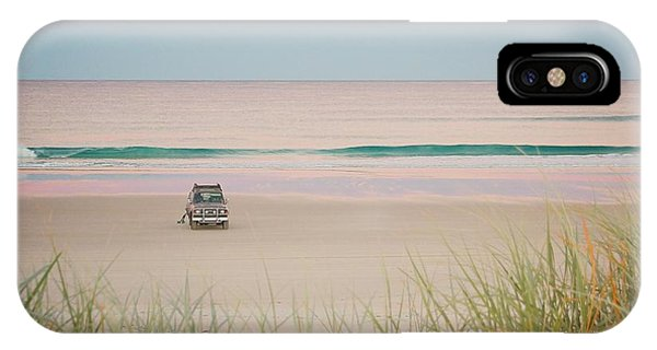 Twilight On The Beach IPhone Case