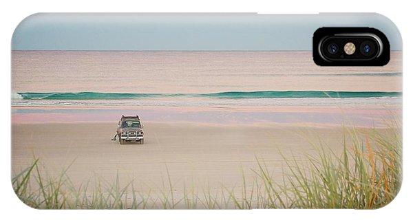 Twilight On The Beach IPhone Case