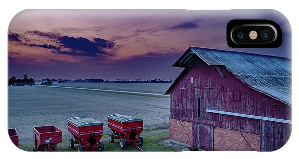 Twilight On The Farm IPhone Case