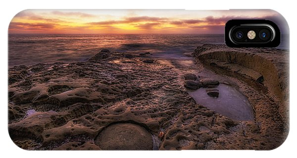 Twilight On The Pacific - California Coast IPhone Case