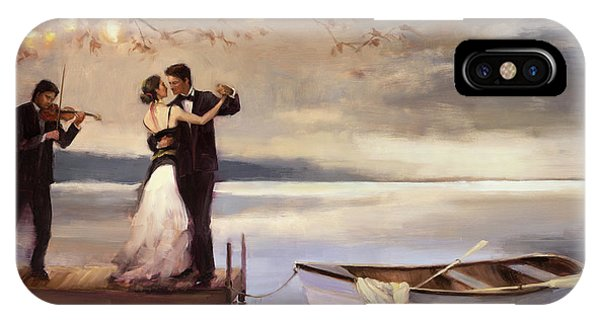 Beauty iPhone Case - Twilight Romance by Steve Henderson