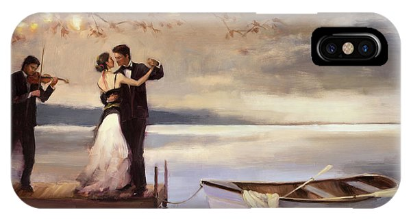 Violin iPhone Case - Twilight Romance by Steve Henderson