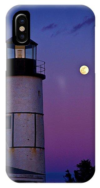 Twilight At Sandy Neck Lighthouse IPhone Case