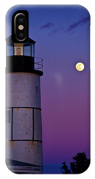 Twilight At Sandy Neck Lighthouse IPhone Case