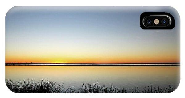 Twilight Stillness Down By The Beach Lagoon IPhone Case