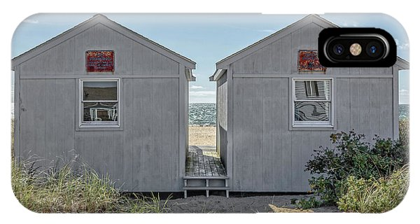 Twin Beach Cottages Cape Cod IPhone Case