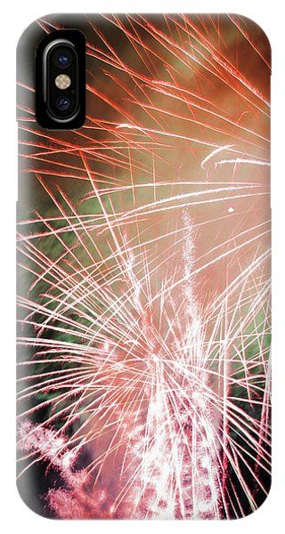 Twin Bursts IPhone Case
