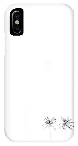 Twin Palms IPhone Case