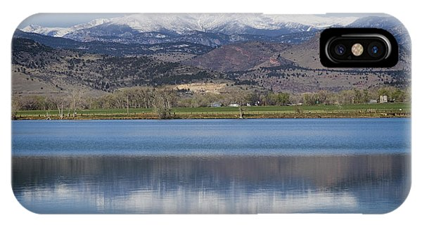 Twin Peaks Mccall Reservoir Reflection IPhone Case