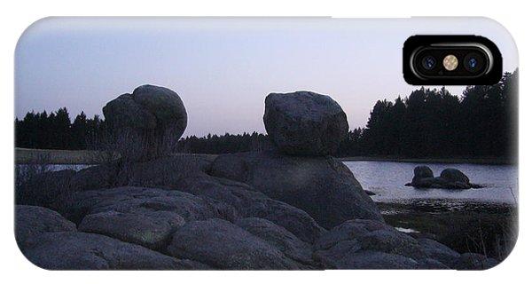 Twin Rocks IPhone Case