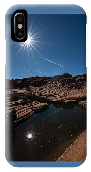 Twin Stars Reflection IPhone Case