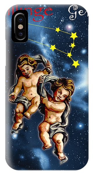 iPhone Case - Twins Of Heaven by Johannes Margreiter