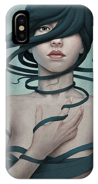 Surreal iPhone Case - Twisted by Diego Fernandez