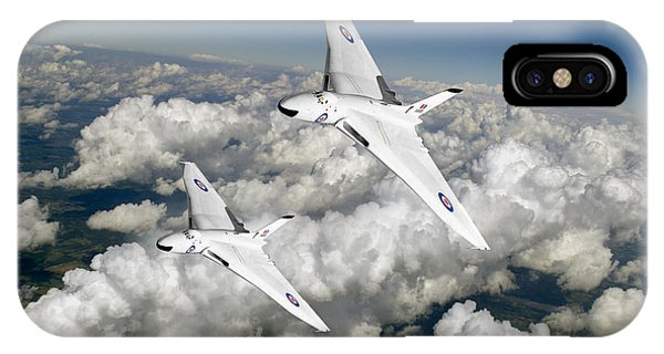 Two Avro Vulcan B1 Nuclear Bombers IPhone Case