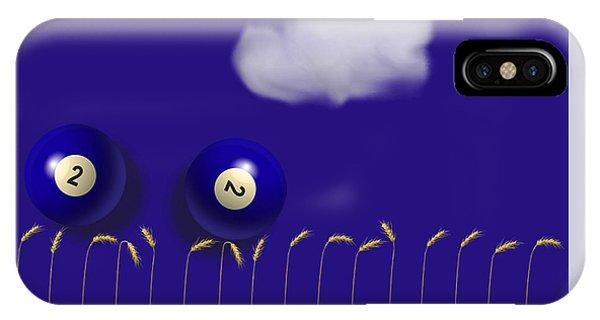 Blue Balls IPhone Case