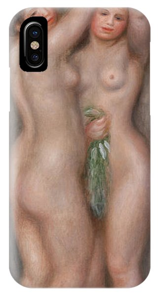Lgbt iPhone Case - Two Bathers by Pierre-Auguste Renoir