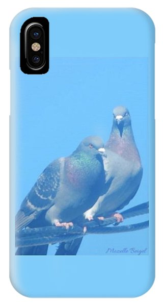 Two Birds In Spring IPhone Case