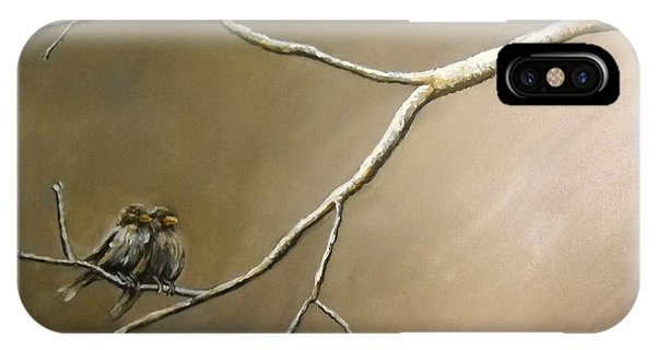 Two Birds On A Branch IPhone Case