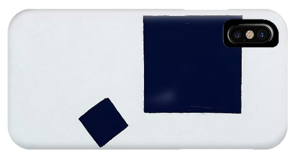 Two Black Squares IPhone Case