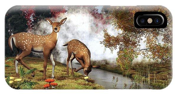 Two Deers IPhone Case