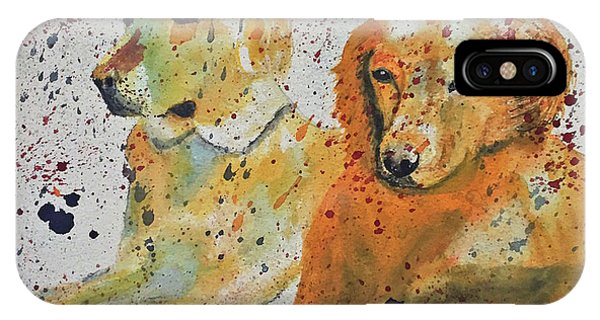 Two Dogs IPhone Case
