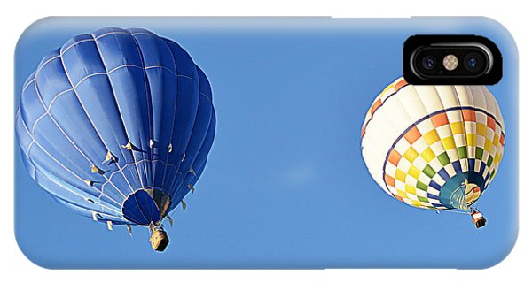 IPhone Case featuring the photograph Two High In The Sky by AJ Schibig