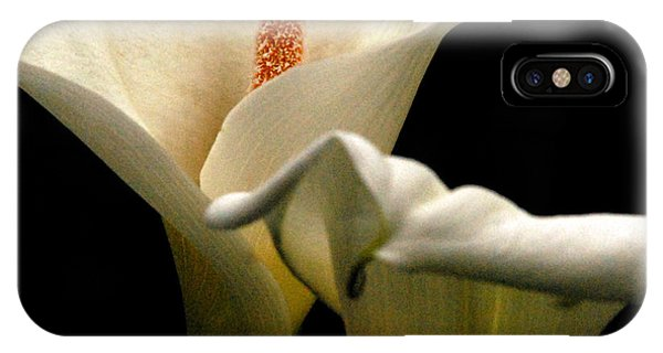 Two Lilies Square IPhone Case