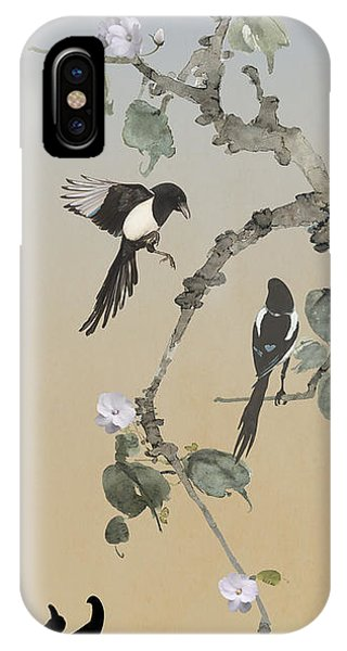 Two Magpies                       IPhone Case