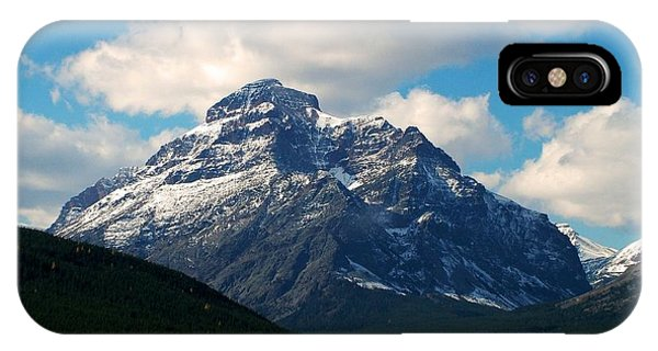 Two Medicine Lake And Rising Wolf Mountain IPhone Case
