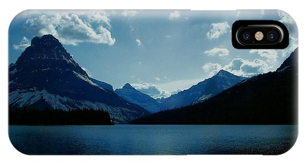 Two Medicine Lake IPhone Case