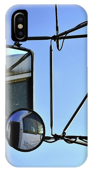 IPhone Case featuring the photograph Two Mirrors Antenna by Jerry Sodorff