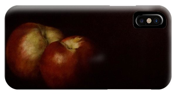 Two Nectarines IPhone Case