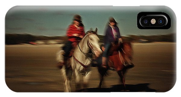 Two On The Road IPhone Case