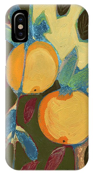 Fruit iPhone Case - Two Oranges by Jennifer Lommers