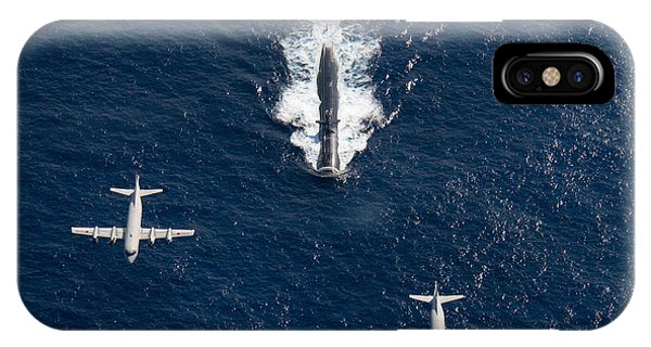 Two P-3 Orion Maritime Surveillance IPhone Case