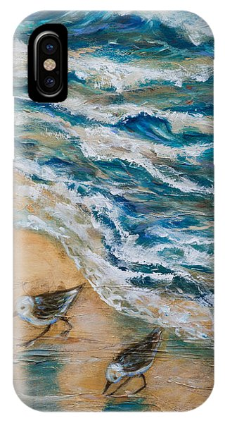 Two Pipers Along Shore IPhone Case