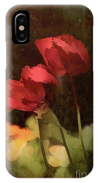 Two Poppies IPhone Case