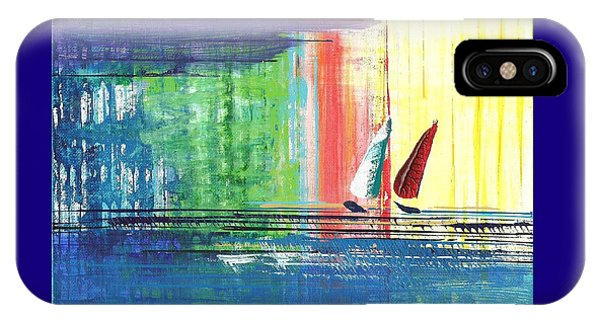 Two Sails IPhone Case
