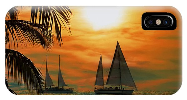 iPhone Case - Two Ships Passing In The Night by Bill Cannon