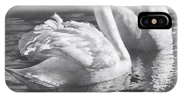 iPhone Case - Two Swans by Denis Chernov